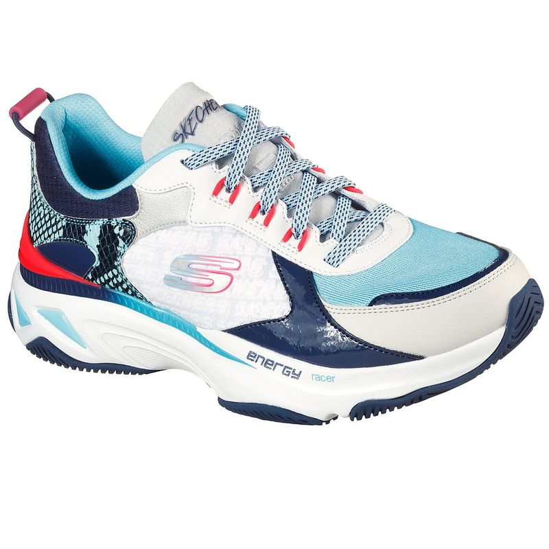 Tenis-Skechers-Energy-Racer-Oh-So-Cool-color-Blanco-Negro-Azul-talla-35-para-Mujer