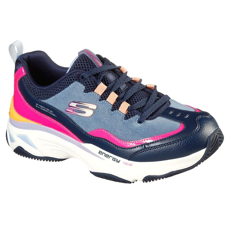Tenis-Skechers-Energy-Racer-She�s-Iconic-color-Azul-Blanco-talla-35.5-para-Mujer